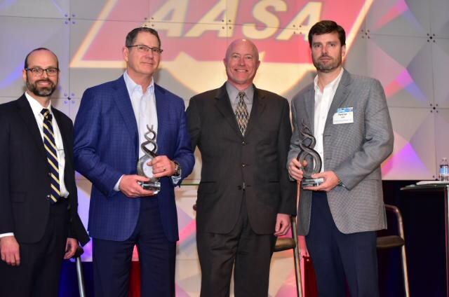 2019 AASA Channel Excellence Award presentation